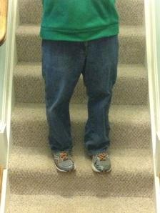 I always wear pants to work